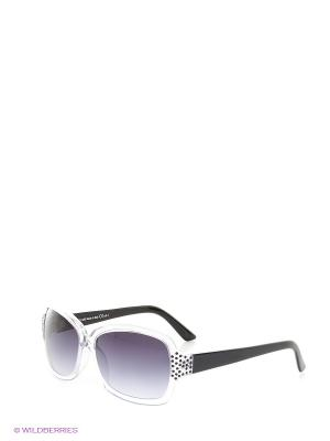 Солнцезащитные очки TOUCH. Цвет: прозрачный, черный