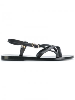 Сандалии Semele Ancient Greek Sandals. Цвет: чёрный