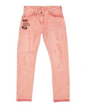 Джинсовые брюки SCOTCH R'BELLE. Цвет: пастельно-розовый