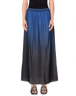 Длинная юбка LOU LONDON. Цвет: синий