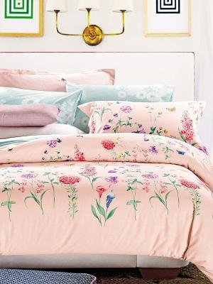 Комплект постельного белья Primavelle. Цвет: бледно-розовый