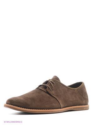 Ботинки TIMBERLAND. Цвет: коричневый, фиолетовый