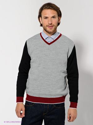 Пуловер Urban fashion for men. Цвет: серый, черный