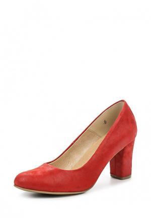 Туфли Caprice. Цвет: красный
