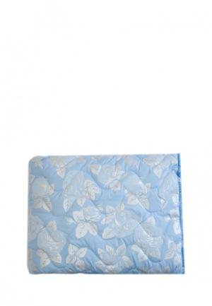 Одеяло La Pastel. Цвет: голубой