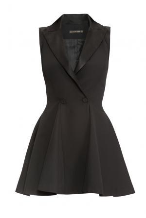 Платье из шерсти SF-150523 Plein Sud. Цвет: черный