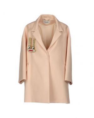Пальто ISSA. Цвет: светло-розовый