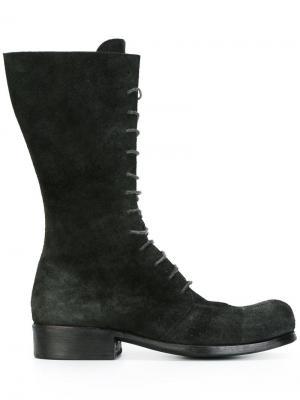 Ботинки на шнуровке Dimissianos & Miller. Цвет: чёрный