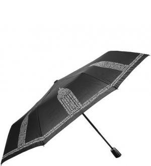 Автоматический зонт с системой двойной антиветер Doppler. Цвет: черный
