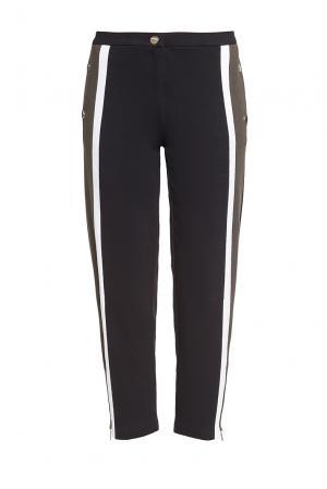 Трикотажные брюки из хлопка 184667 Anna Rita N. Цвет: черный