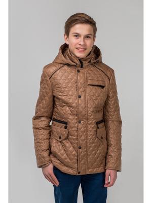 Куртка Пралеска. Цвет: бежевый