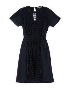 Короткое платье O'2nd. Цвет: темно-синий