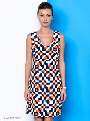 Платье River Woods. Цвет: оранжевый