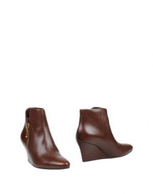Полусапоги и высокие ботинки AVRIL GAU. Цвет: какао
