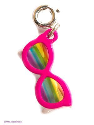 Подвеска на браслет  солнцезащитные очки CHARM IT. Цвет: фуксия