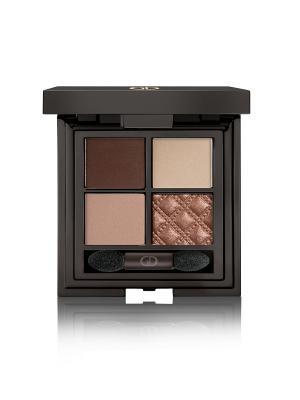 Тени для век четырехцветные IDYLLIC SOFT SATIN  (WITHOUT MIRROR) No.41 GA-DE. Цвет: коричневый, бронзовый, светло-коричневый, бежевый