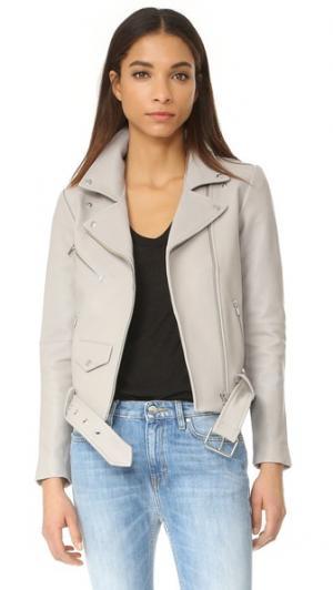 Классическая куртка Jayne VEDA. Цвет: серовато-коричневый
