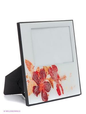 Фоторамка Glitter summer flowers@ VELD-CO. Цвет: красный, белый