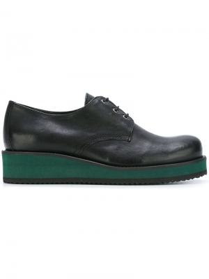 Туфли на платформе Cotélac. Цвет: чёрный