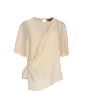 Блузка TONY COHEN. Цвет: слоновая кость