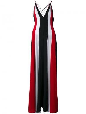 Striped dress Gabriela Hearst. Цвет: красный
