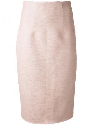 Юбка First Blush Manning Cartell. Цвет: розовый и фиолетовый