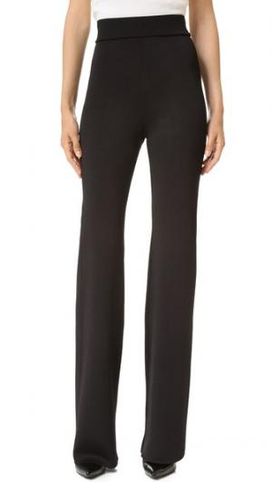 Трикотажные брюки с карманами Cushnie Et Ochs. Цвет: голубой