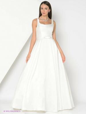 Платье X'Zotic. Цвет: молочный