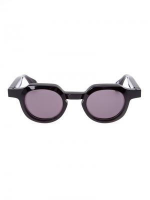 Солнцезащитные очки Retro Future by 900 Factory. Цвет: чёрный