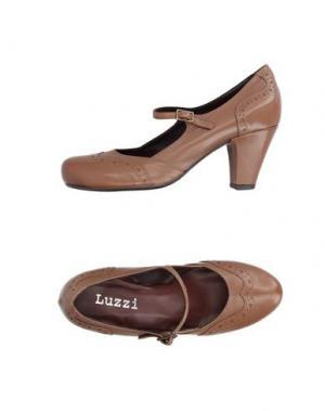 Туфли LUZZI. Цвет: коричневый
