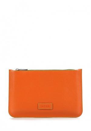 Косметичка Fabula. Цвет: оранжевый