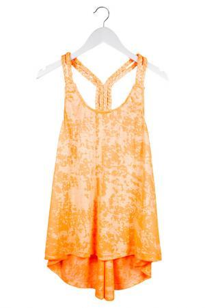 Майка Orby. Цвет: оранжевый неон (big)