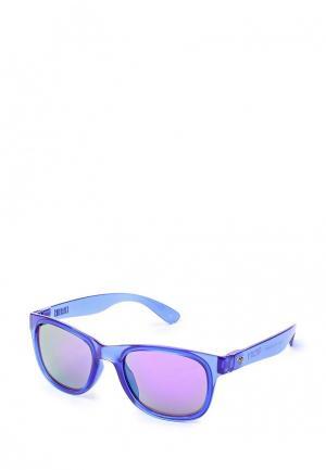 Очки солнцезащитные Roxy. Цвет: синий