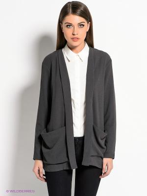Блейзер Vero moda. Цвет: серый