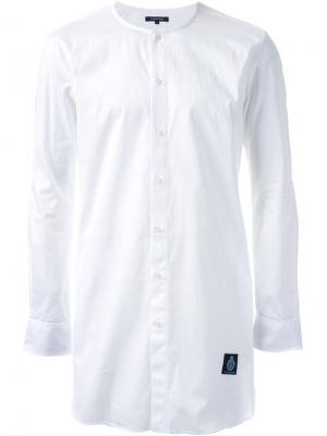 Удлиненная рубашка Guild Prime. Цвет: белый