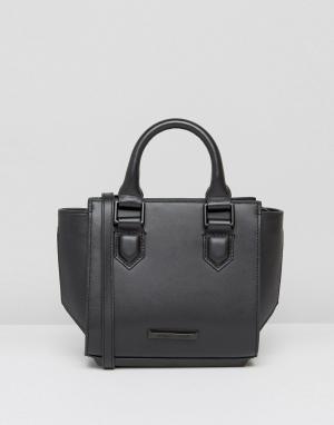 Kendall + Kylie Черная сумка-тоут Brook. Цвет: черный