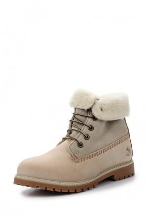 Ботинки LumberJack. Цвет: бежевый
