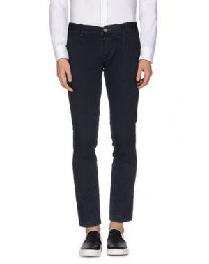 Повседневные брюки GUYA G.. Цвет: темно-синий