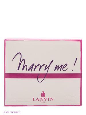 Парфюмерная вода Marry Me, 30 мл LANVIN. Цвет: белый, розовый