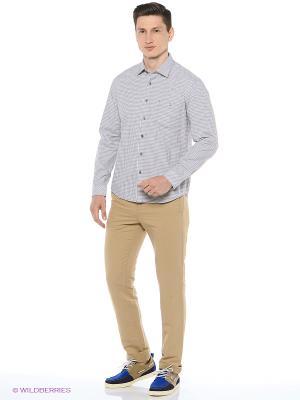 Рубашка Finn Flare. Цвет: темно-серый