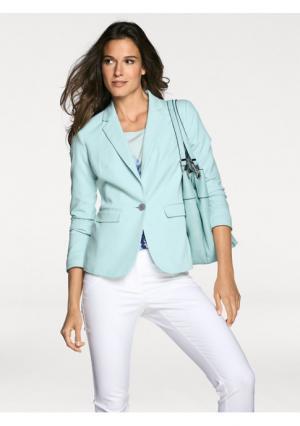 Пиджак PATRIZIA DINI. Цвет: серый меланжевый