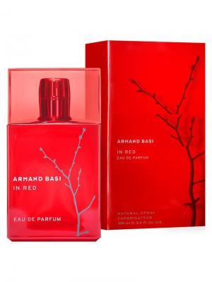In Red lady, Парфюмерная вода, 100 мл Armand Basi. Цвет: красный
