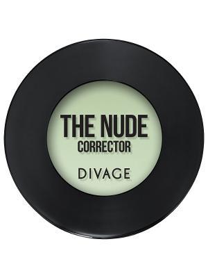 Кремовый корректор THE NUDE, тон 04 DIVAGE. Цвет: зеленый