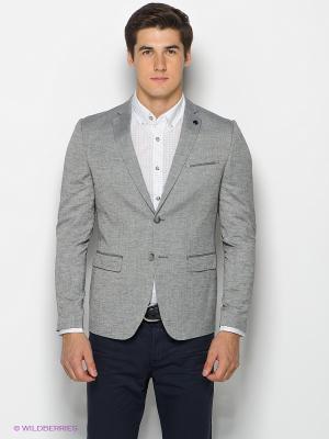 Пиджак SELECTED. Цвет: серый меланж