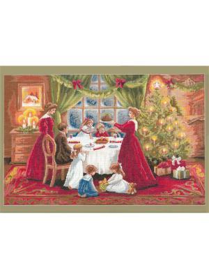 Рождество набор для вышивания 72,5х48 см NITEX. Цвет: красный, белый, зеленый