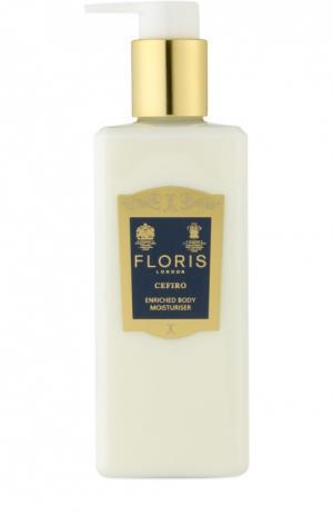 Крем для тела увлажняющий Cefiro Floris. Цвет: бесцветный
