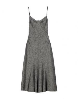 Платье до колена JUNYA WATANABE COMME DES GARÇONS. Цвет: серый