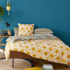Пододеяльник с рисунком, JAHIA La Redoute Interieurs. Цвет: рисунок желтый/синий