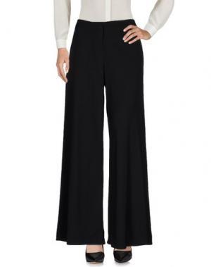Повседневные брюки JI OH. Цвет: черный