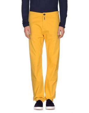 Джинсовые брюки SOHO. Цвет: желтый
